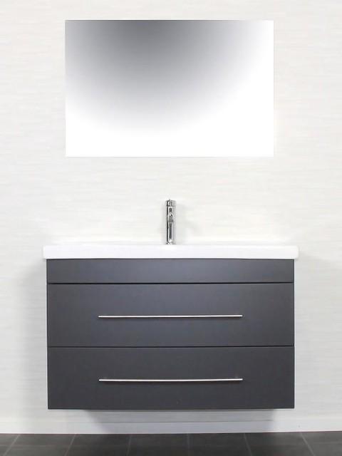 waschtisch waschbecken anthrazit contemporain console. Black Bedroom Furniture Sets. Home Design Ideas