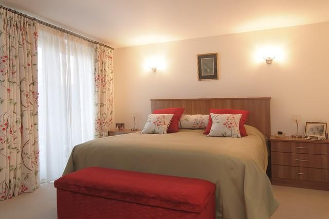 bespoke bedroom furniture transitional bedroom
