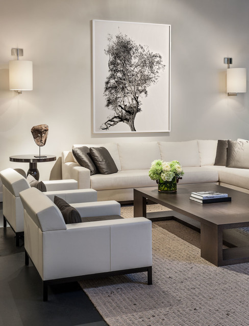 Living room design ideas grey sofa - Bench Christian Liaigre Augustin Sofa Contemporary Home Design Ideas