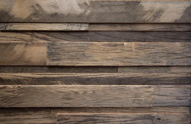 Ledge Wood Wall Plank Reclaimed White Oak Contemporary