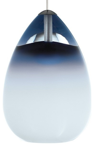 Tech Lighting Alina Low Voltage Monopoint Pendant With Canopy Steel Blue M