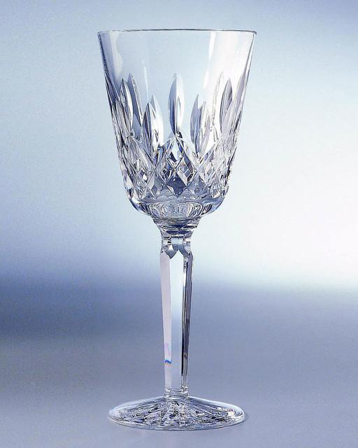 Lismore Crystal Claret Wine Glass Contemporary