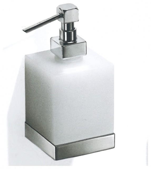 Modern Bathroom Soap Dispenser: Lacava Flash Freestanding Soap Dispenser