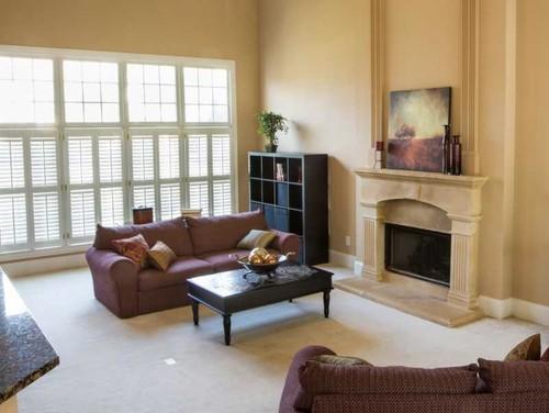 Furniture arrangement in great room for Great room arrangements
