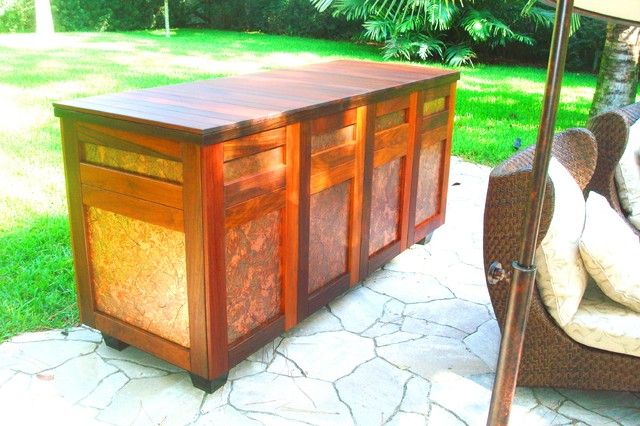Outdoor storage cabinet - Tropical - tampa - by Leisure Lifestyle Products