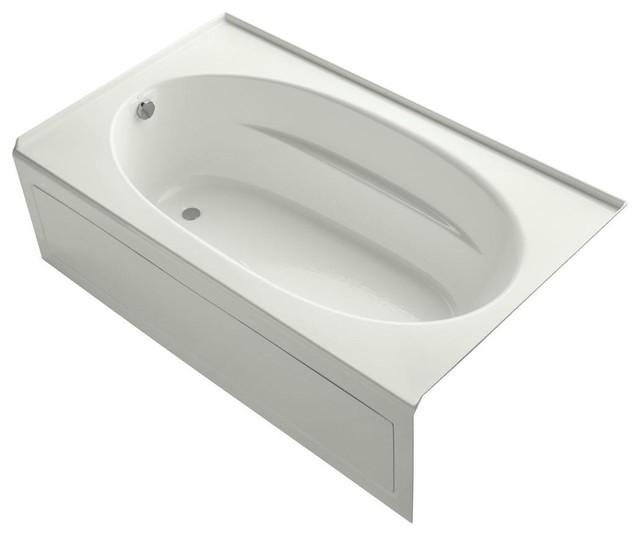 KOHLER Jetted Bathtubs Windward 6 Ft Whirlpool Tub In Dune K 1114 GLA NY Con