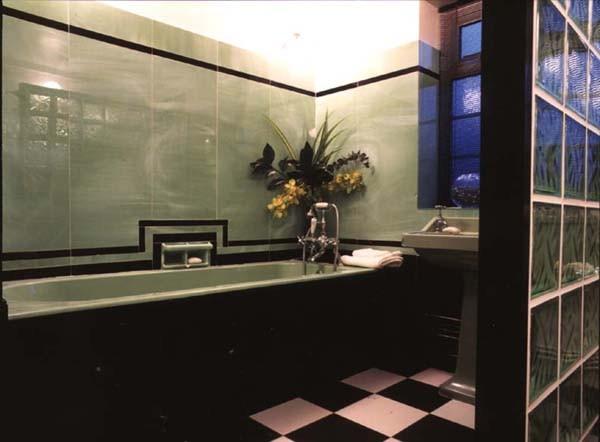 Art Deco Bathroom Traditional Bathroom London By