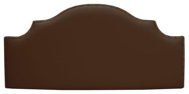Home Decorators Collection Headboards Verona Chocolate Upholstered Twin Contemporary Kids Beds
