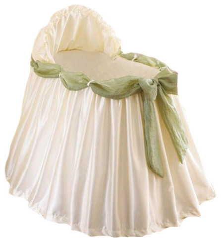 bassinet liner and skirt