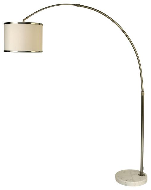 trend lighting bfa8411 lux ii arc floor lamp modern. Black Bedroom Furniture Sets. Home Design Ideas
