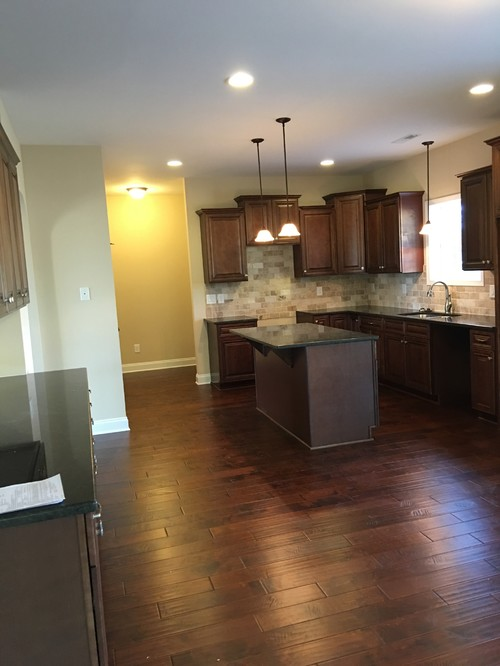 Brown kitchen for Suggested colors for kitchens