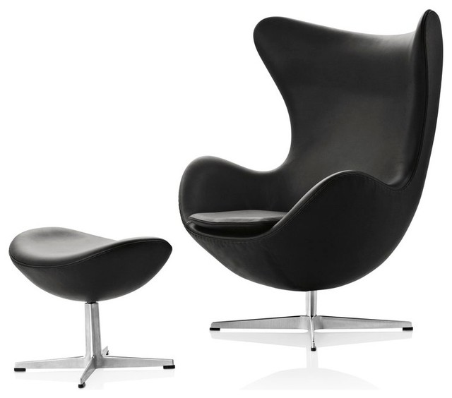 Egg Chair And Footstool Midcentury Armchairs Accent Chairs London