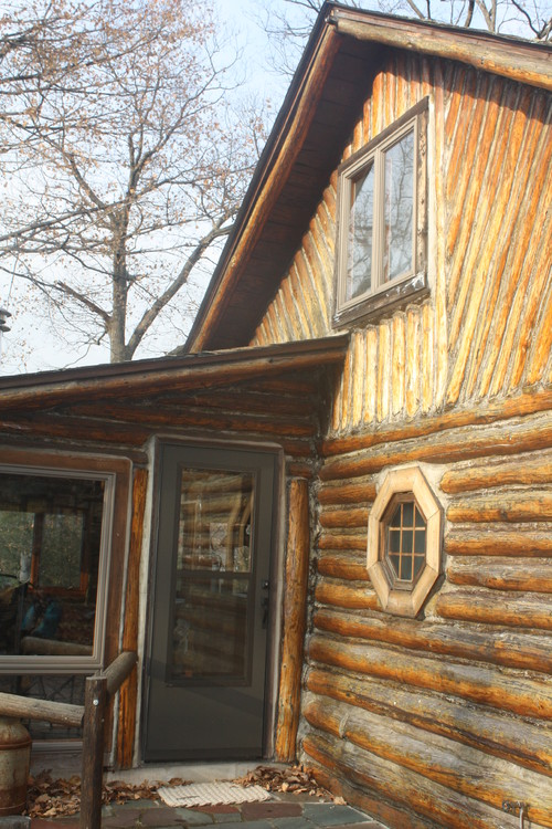 Please help me pick a exterior color for my log cabin for Log cabin exterior stain colors