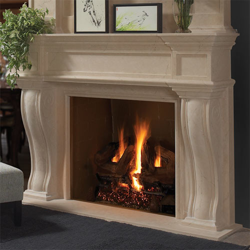Dartmouth Stone Fireplace Mantel Traditional Indoor Fireplaces Other Metro By