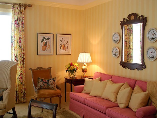 english country a small one bedroom residence in a retirement community. Black Bedroom Furniture Sets. Home Design Ideas
