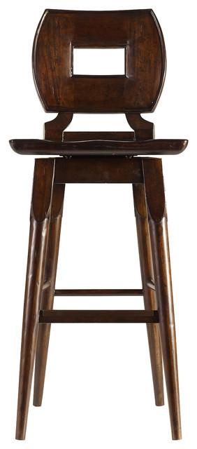 Stanley Furniture Artisan Dining Room Wood Bar Stool