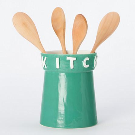 Image gallery kitchen utensil holder - Unique kitchen utensil holder ...