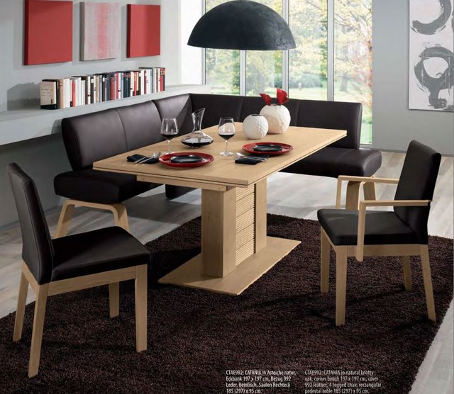 Catania Dining Table Woessner Modern Dining Tables Miami By The Colle