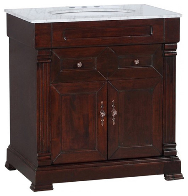 Yvec 009br Vanity Traditional Bathroom Vanities And Sink Consoles By Seconds Surplus
