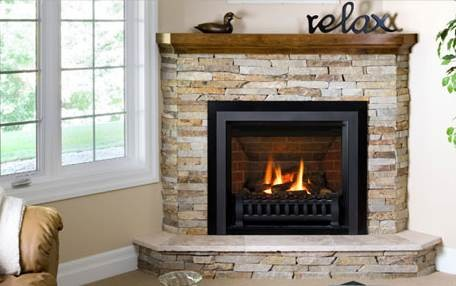 Installing A Corner Gas Fireplace Need Help With Dimensions