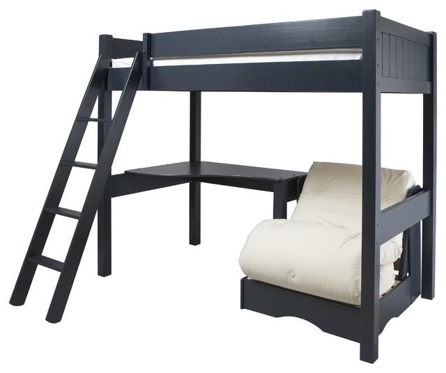 Warwick High Sleeper With Futon - Modern - Kids Beds - by ...