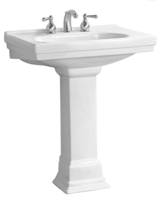 Traditional Bathroom Sink : ... China Pedestal Sink plumbingdepot.com traditional-bathroom-sinks