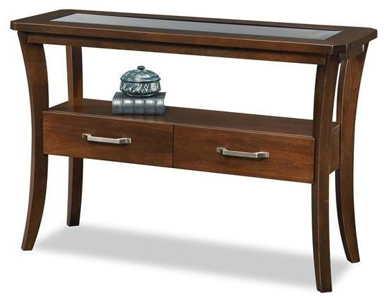 2 drawers sofa table contemporary console tables by