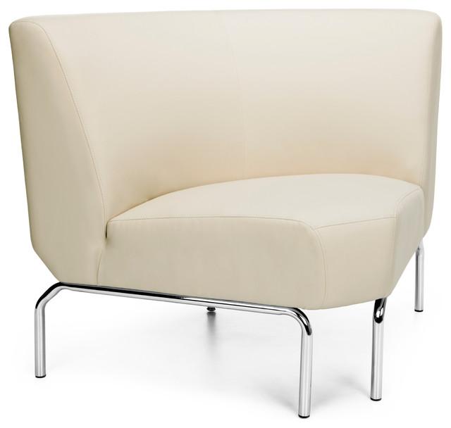 Triumph 90 Degree Corner Lounge Chair Cream