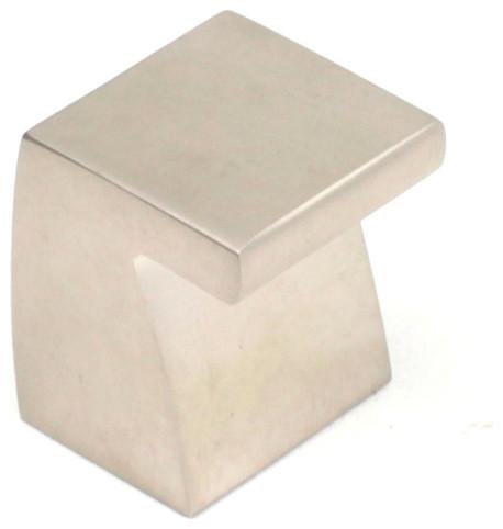 Fairmont knob matt nickel europe contempor neo pomos - Pomos para armarios ...