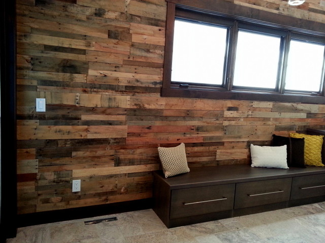 - 7 Best Recycled Wood Wall Images On Pinterest