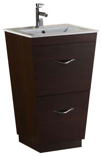 modern vanity base only wenge 29 x18 modern bathroom vanities an