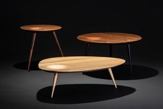 couchtisch oder beistelltisch nach ma in eiche oder nuss. Black Bedroom Furniture Sets. Home Design Ideas