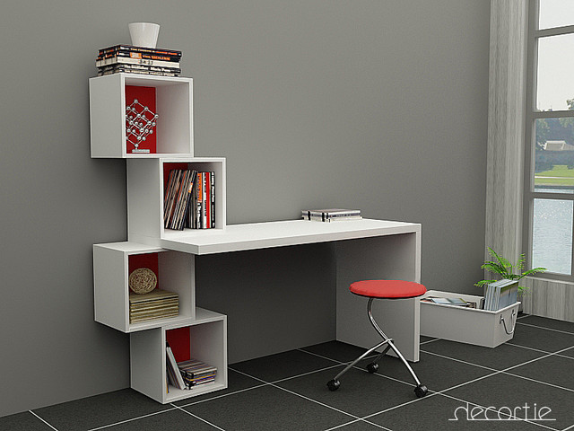 Decortie products contemporain meuble bureau et for Meuble bureau contemporain