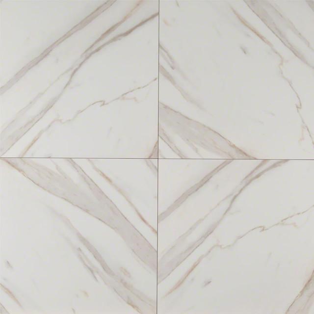 Pietra Calacatta 12x24 Rectangular Matte Porcelain