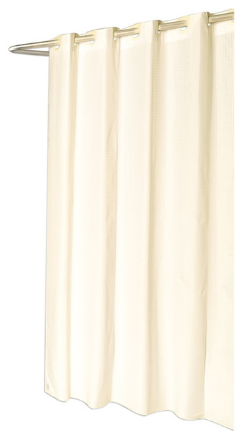 carnation home fashions extra long ez on checks polyester