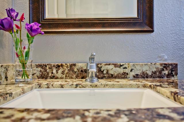 Bathroom remodels modern san diego by miramar for Miramar kitchen and bath