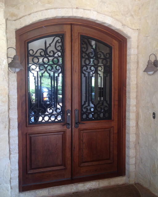 Double Rustic Windows : Castille double door rustic front doors other metro