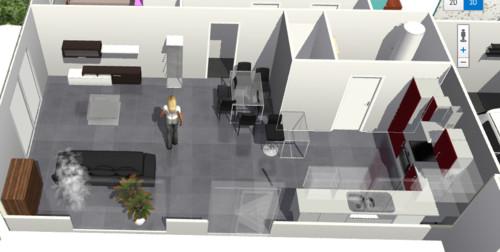 Besoin d 39 aide pour l 39 agencement des meubles for Plan piece a vivre 40m2