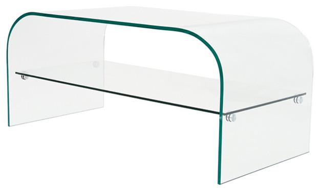 Table Basse Design En Verre 100 Cm Contemporary Coffee