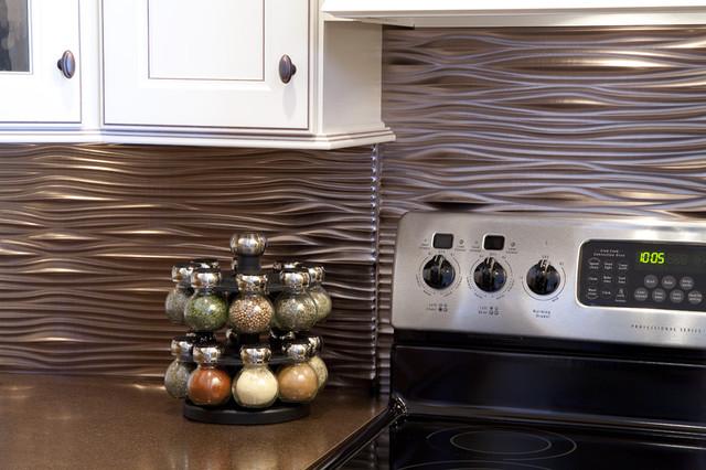 fasade waves brushed nickel modern home decor