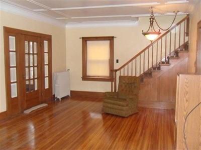 Original oak trim eww what to do - How to do interior design for new home ...