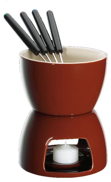 chocolate fondue set contemporary fondue and raclette sets. Black Bedroom Furniture Sets. Home Design Ideas