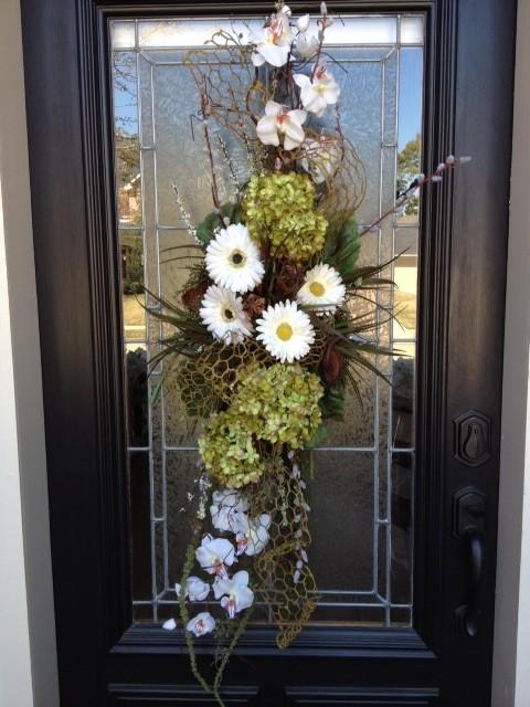 Custom floral arrangements eclectic artificial flower