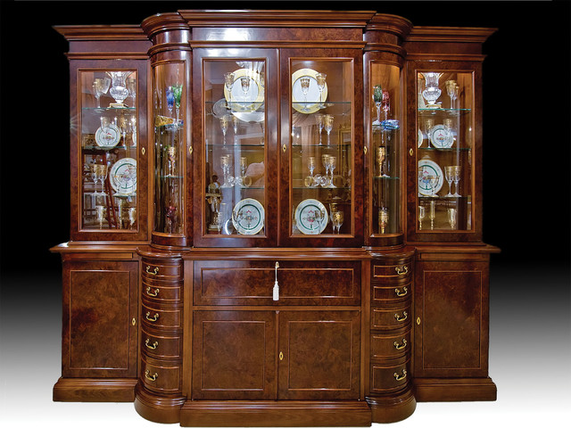 Breakfront China Cabinet - Traditional - China Cabinets And Hutches - other metro - by David ...