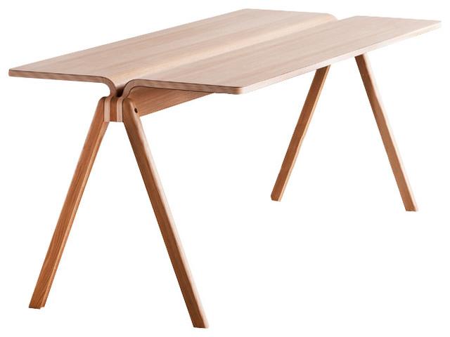 Copenhague cph150 tisch eiche lackiert 140 cm hay design - Tisch skandinavisch ...