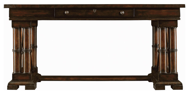 Patron 64 desk sepia ebony contemporain meuble for Meuble bureau 64