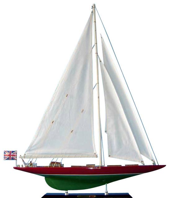 wooden endeavour 2 limited model sailboat decoration 27. Black Bedroom Furniture Sets. Home Design Ideas