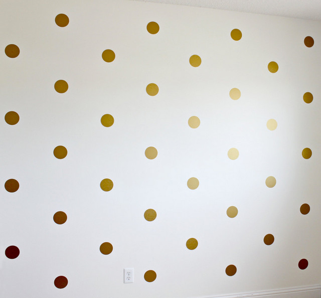 Gold dot wall decals amazon ~ Color the walls of your house
