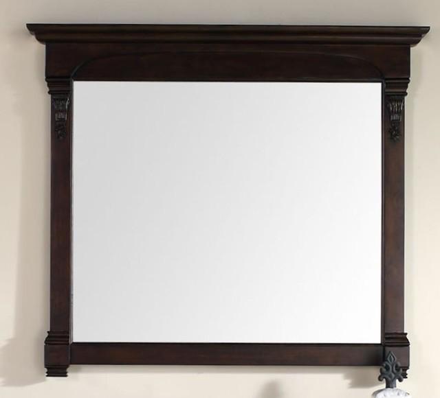 Mahogany Bathroom Mirror: James Martin Brookfield 47.25 Mirror In Burnished Mahogany