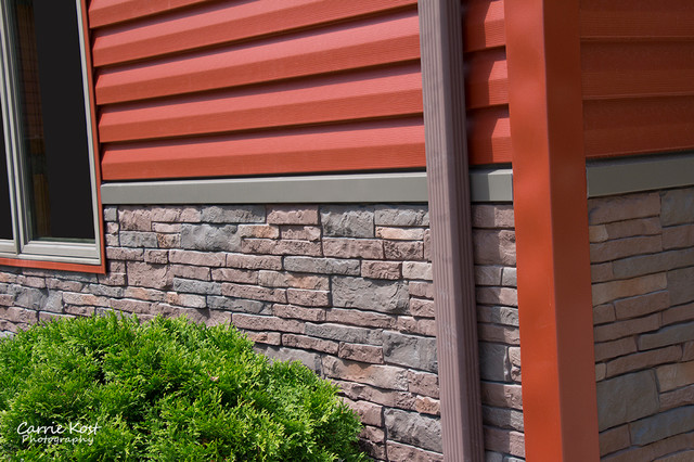 Manitowoc Wi Home With Alside And Exteria Brick Siding